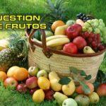 CUESTION DE FRUTOS